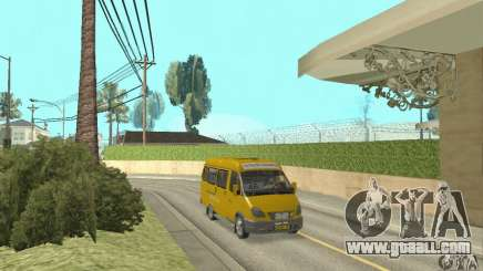 GAZ 2705 taxi for GTA San Andreas