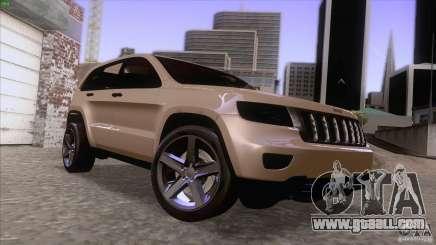 Jeep Grand Cherokee 2012 for GTA San Andreas
