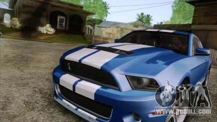 Ford Shelby GT500 2011 for GTA San Andreas