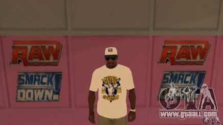 Cap John Cena for GTA San Andreas