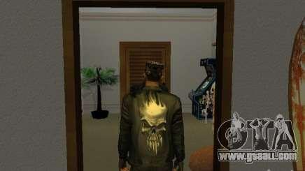 Skull jacket for GTA San Andreas