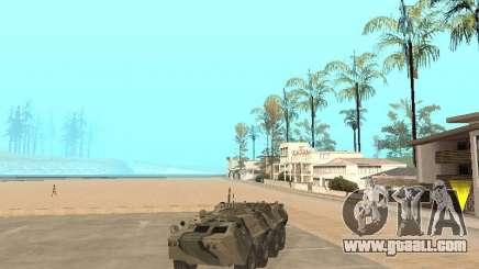 BTR 80 for GTA San Andreas