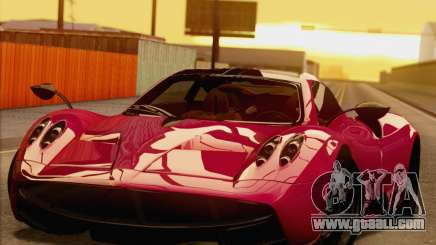Pagani Huayra 2011 for GTA San Andreas