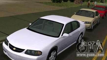 Chevrolet Impala SS 2003 for GTA Vice City