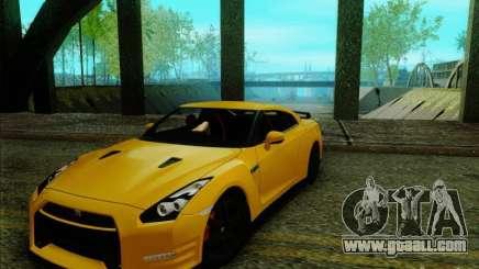Nissan GTR Egoist 2011 for GTA San Andreas