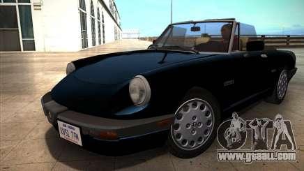 Alfa Romeo Spider 115 1986 for GTA San Andreas