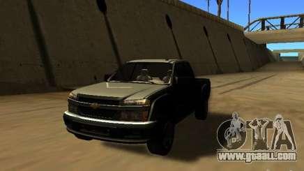 Chevrolet Colorado for GTA San Andreas