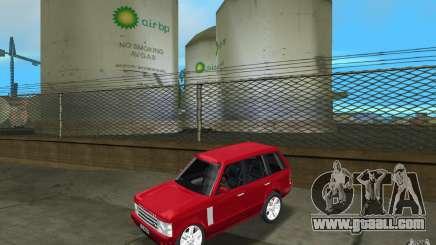 Range Rover Vogue 2003 for GTA Vice City