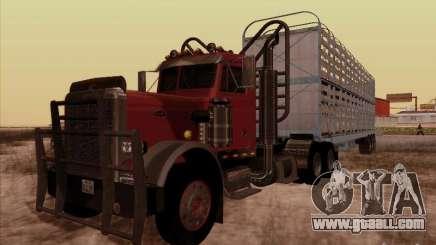 Peterbilt 359 Day Cab for GTA San Andreas