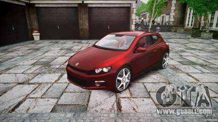 Volkswagen Scirocco 2.0 TSI for GTA 4