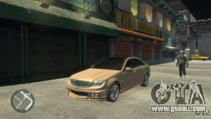 Mercedes-Benz C63 for GTA 4