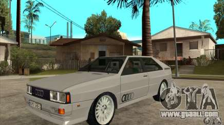 Audi Quattro for GTA San Andreas