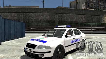 Skoda Octavia 2005 Hungarian Police for GTA 4