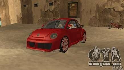 Volkswagen Bettle Tuning for GTA San Andreas