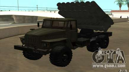 Ural 4320 Grad v2 for GTA San Andreas