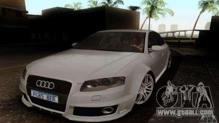 Audi RS4 2007 for GTA San Andreas