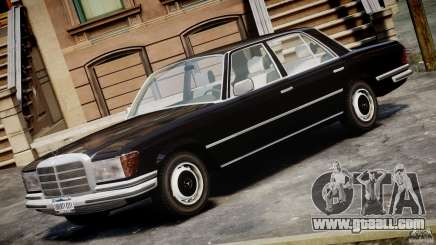 Mercedes-Benz 280SE W116 for GTA 4