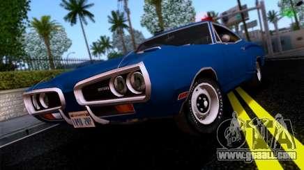 Dodge Coronet Super Bee v2 for GTA San Andreas
