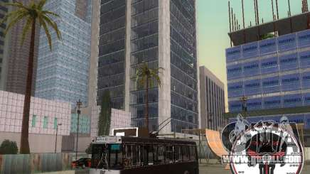 Trolleybus LAZ-52522 for GTA San Andreas