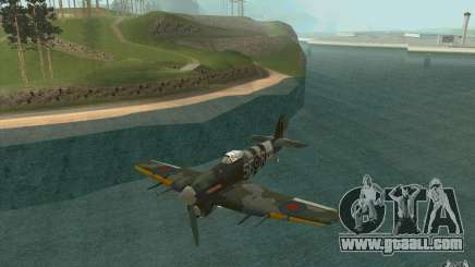 Hawker Typhoon for GTA San Andreas
