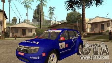 Dacia Duster Rally for GTA San Andreas