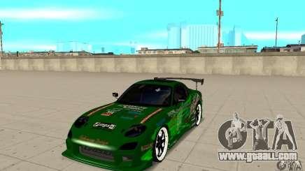 Mazda RX-7 ings for GTA San Andreas