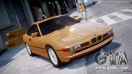 BMW 850i E31 1989-1994 for GTA 4