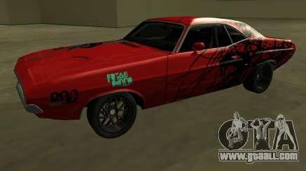 Dodge Challenger 1971 TeamGo for GTA San Andreas