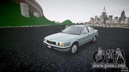 BMW 535i E34 for GTA 4