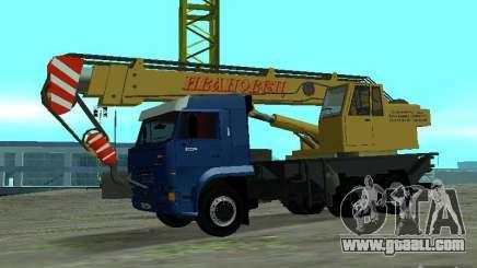 KAMAZ 65117 Ivanovets for GTA San Andreas