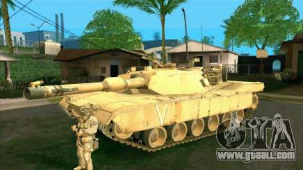 M1A2 Abrams of COD4: MW for GTA San Andreas