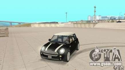 Mini Cooper Hardtop for GTA San Andreas