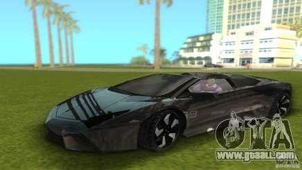 Lamborghini Reventon for GTA Vice City