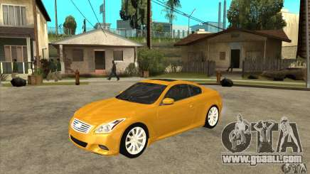 Infiniti G37 Coupe Sport for GTA San Andreas
