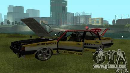 Audi 80 Quattro Rally for GTA San Andreas