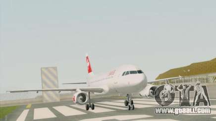 Airbus A319-112 Swiss International Air Lines for GTA San Andreas