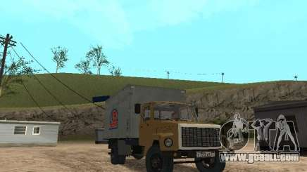 GAZ 3309 CR v2 for GTA San Andreas