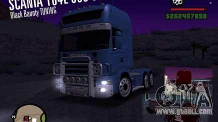 Scania 164L 580 V8 Black Beaunty for GTA San Andreas