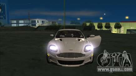 Aston Martin DBS 2009 for GTA San Andreas