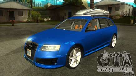 Audi RS6 Avant 2009 for GTA San Andreas