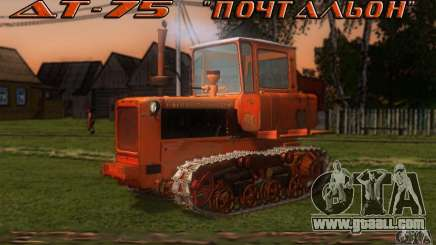 Tractor DT-75 Postman for GTA San Andreas