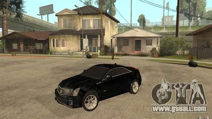 Cadillac CTS V Coupe 2011 for GTA San Andreas