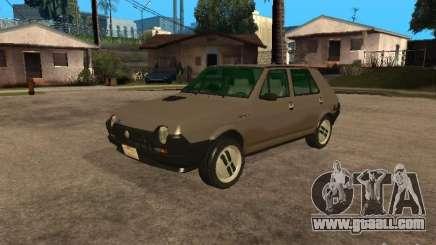 Fiat Ritmo for GTA San Andreas