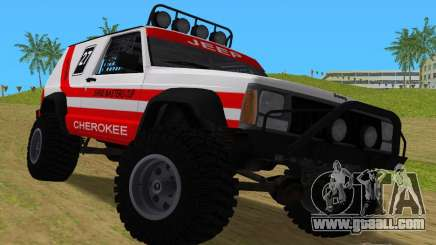 Jeep Cherokee 1984 Sandking for GTA Vice City