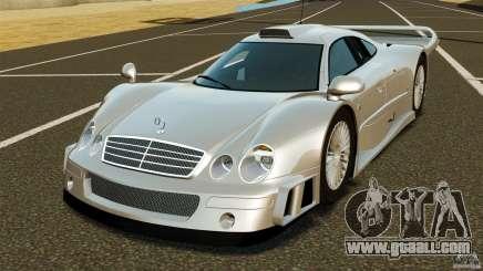 Mercedes-Benz CLK GTR AMG for GTA 4
