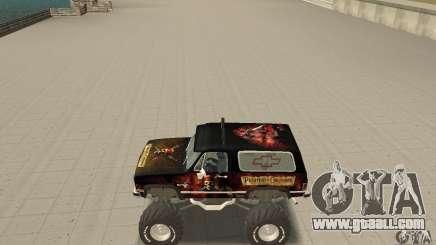 Chevrolet Blazer K5 Monster Skin 4 for GTA San Andreas