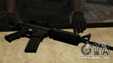 The M4a1 for GTA San Andreas