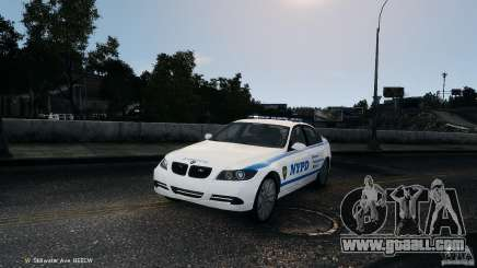 NYPD BMW 350i for GTA 4