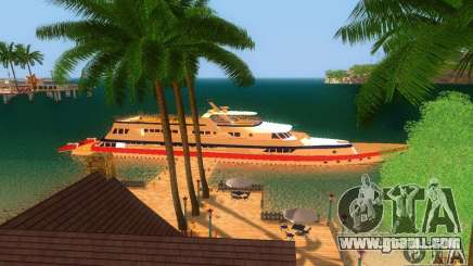 Yacht Korteza from Vice City for GTA San Andreas