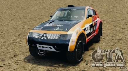 Mitsubishi Pajero Evolution MPR11 for GTA 4